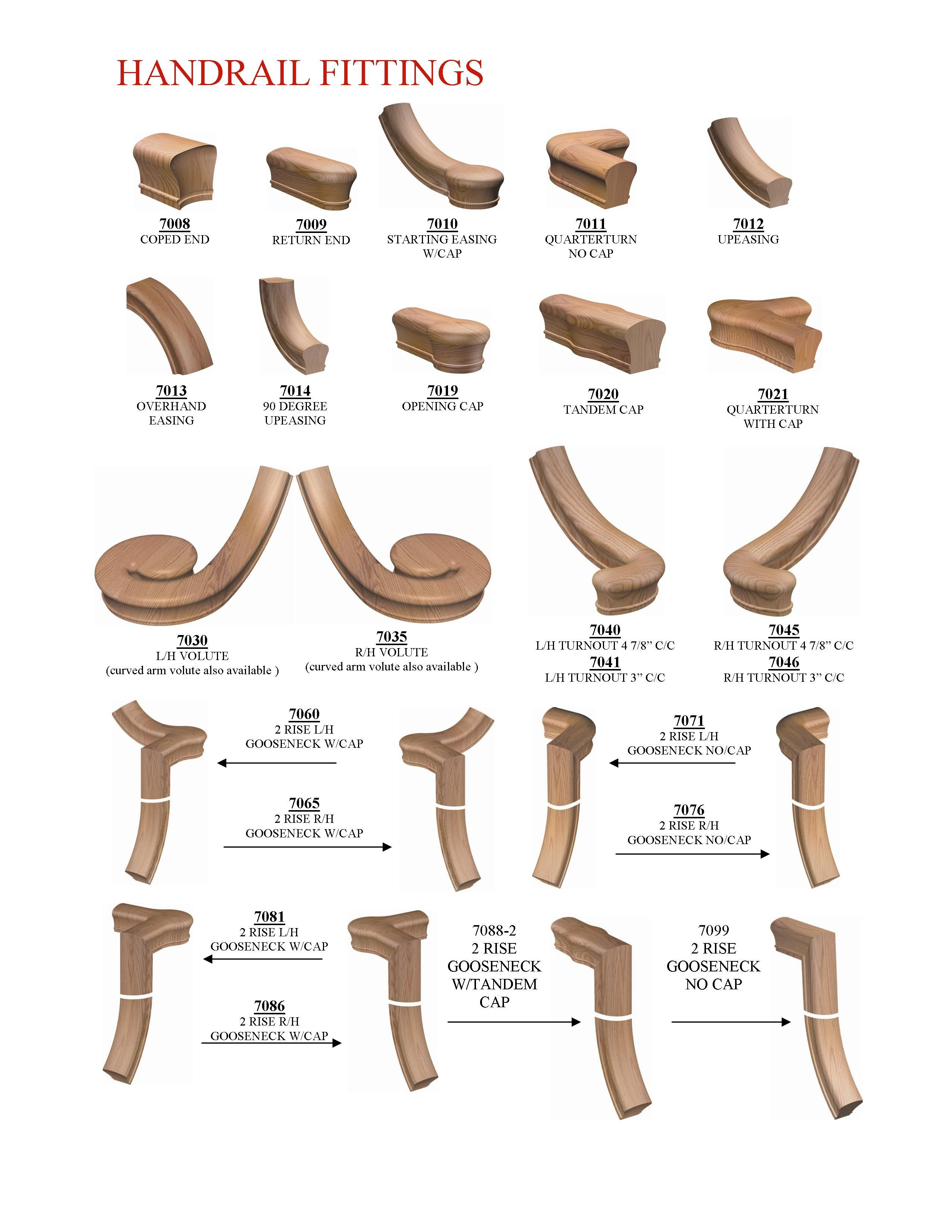 Image Result For Hand Rail Ends