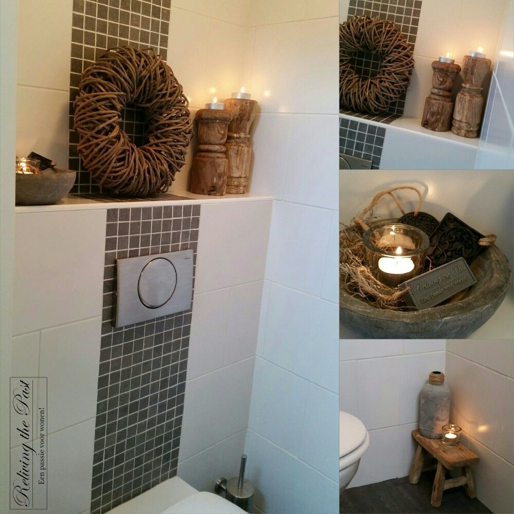 Pin Op Toilet Decoratie