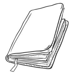 Vector Sketch Illustration Open Book And Stack Of Books Image Adobe Stock Open Book Drawing Vector Sketch Book Drawing