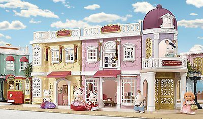 SYLVANIAN FAMILIES 6022 TOWN SERIES GRAND DEPARTMENT STORE GIFT SET NEW