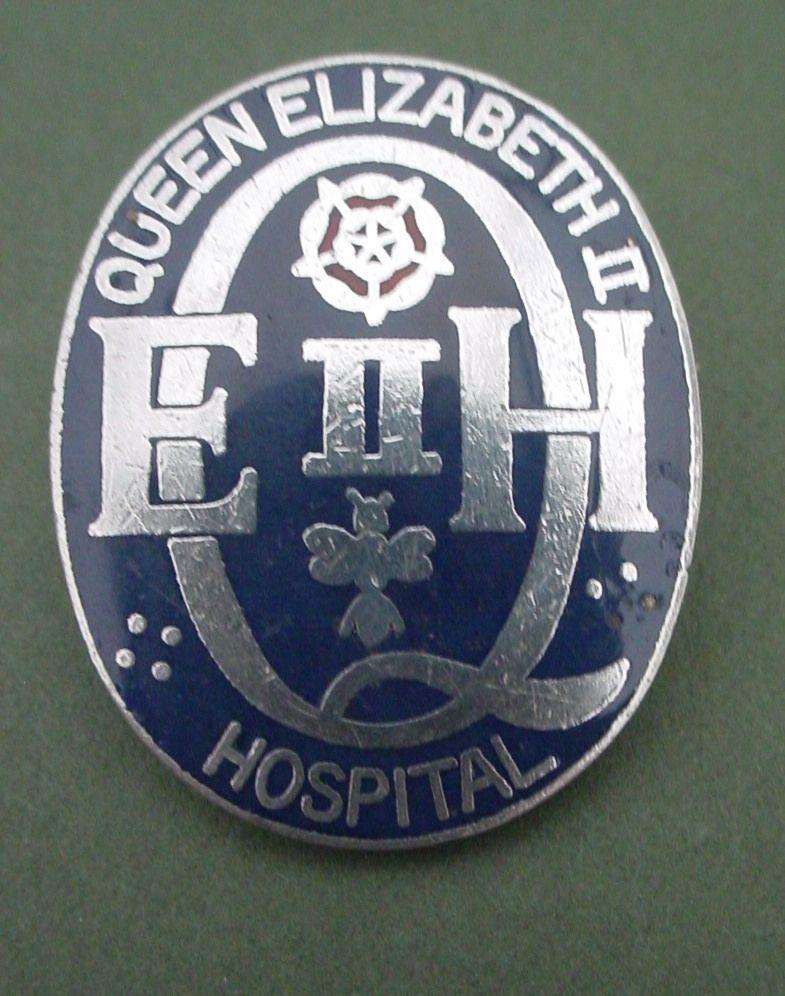 Queen Elizabeth Ii Hospital Welwyn Garden City Vintage Nurse Hospital Pins Hospital