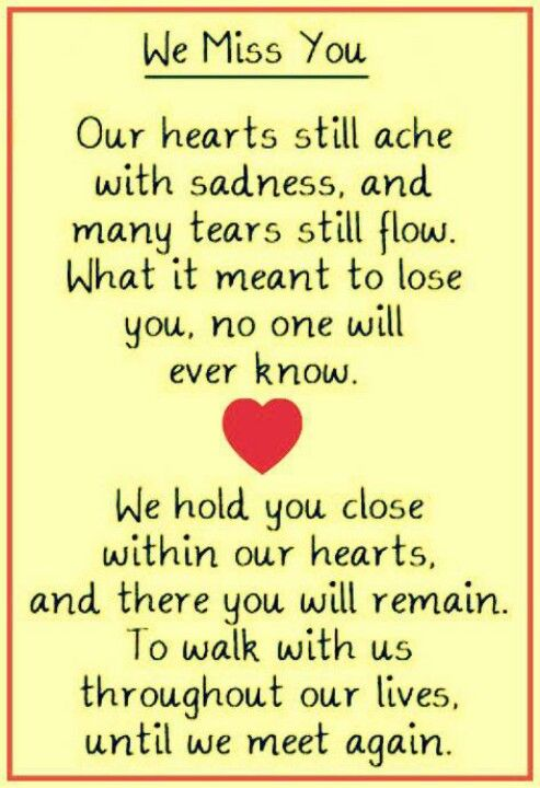 Pin By Annalise Forrester On Thoughts Miss You Mom Miss You Dad Missing My Brother