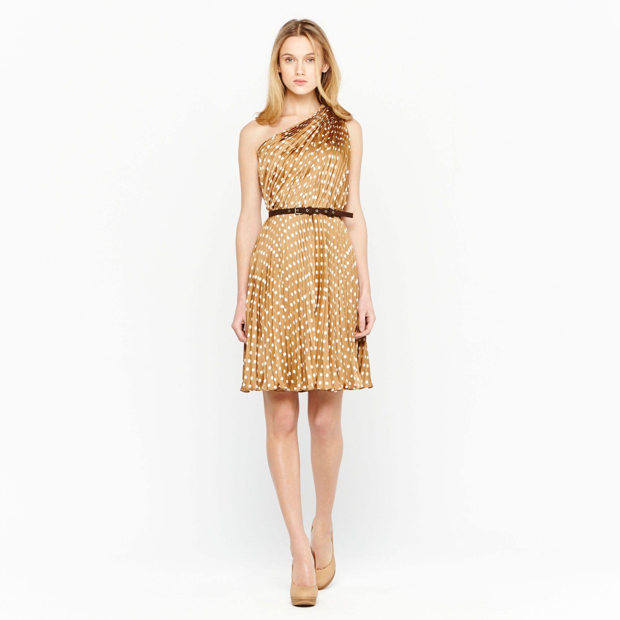 Vestido de c ctel camel estampado ad mujer adolfo for Vestidos adolfo dominguez outlet online