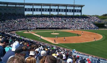 Steinbrenner Field, Tampa, FL  Yankees Spring Training!!!!!