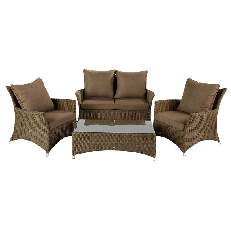 Hartman Madison Lounge Set Sepia Henna  Brown Rattan      Garden Furniture  World. Hartman Madison Lounge Set Sepia Henna  Brown Rattan     HMADSET09