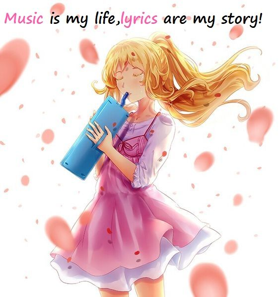 My Life My Music My Everything Kaori Your Lie In April