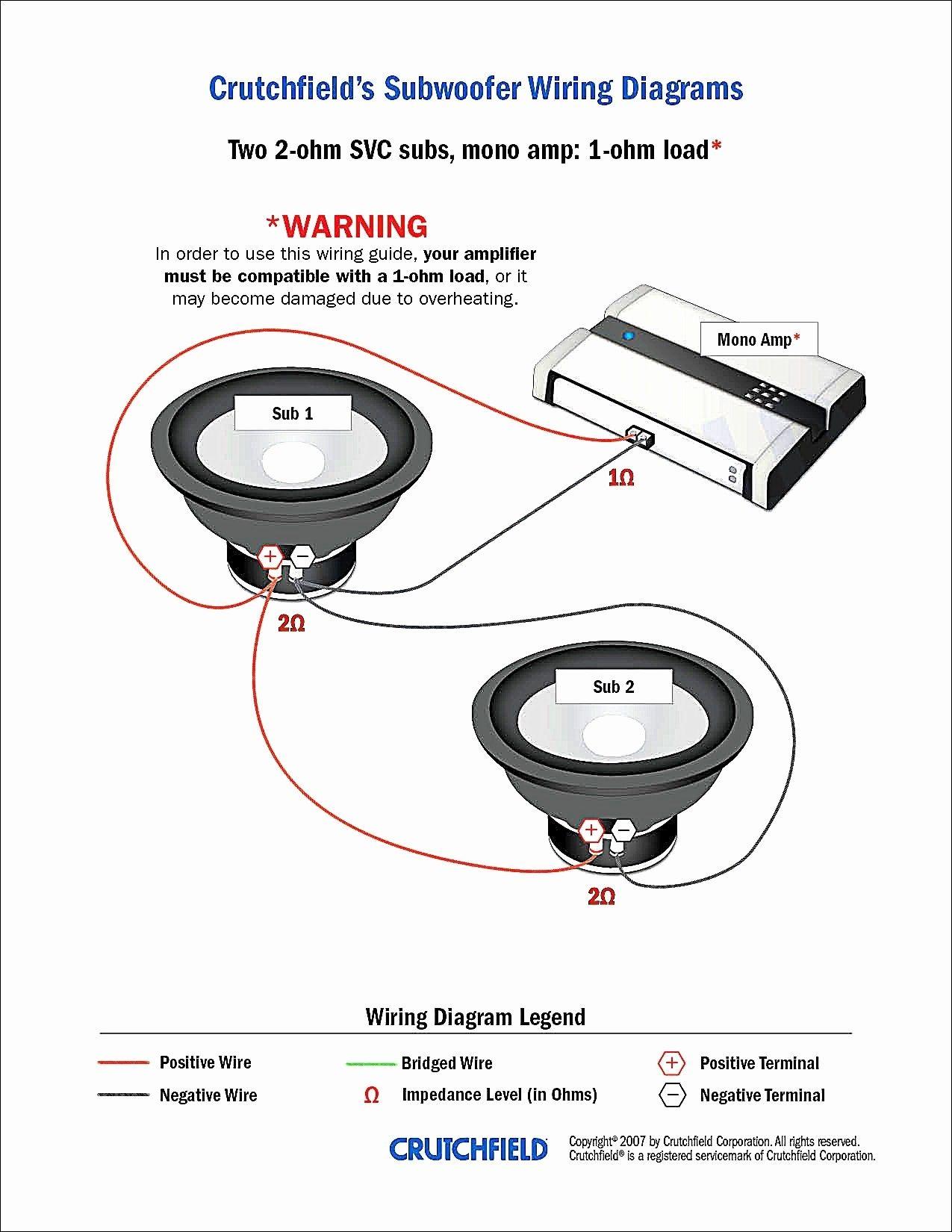 Kicker Cvr 12 2 Ohm Wiring Diagram Best Of In 2020 Subwoofer Wiring Wiring Speakers Car Audio Installation