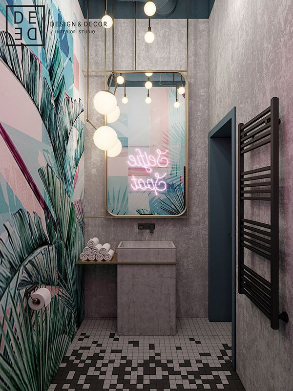 27 Cool Bathroom Paint Color Schemes Small Toilet Decorating Ideas Uk Small Bathrooms Pinteres Salon Interior Design Salon Decor Home Interior Design