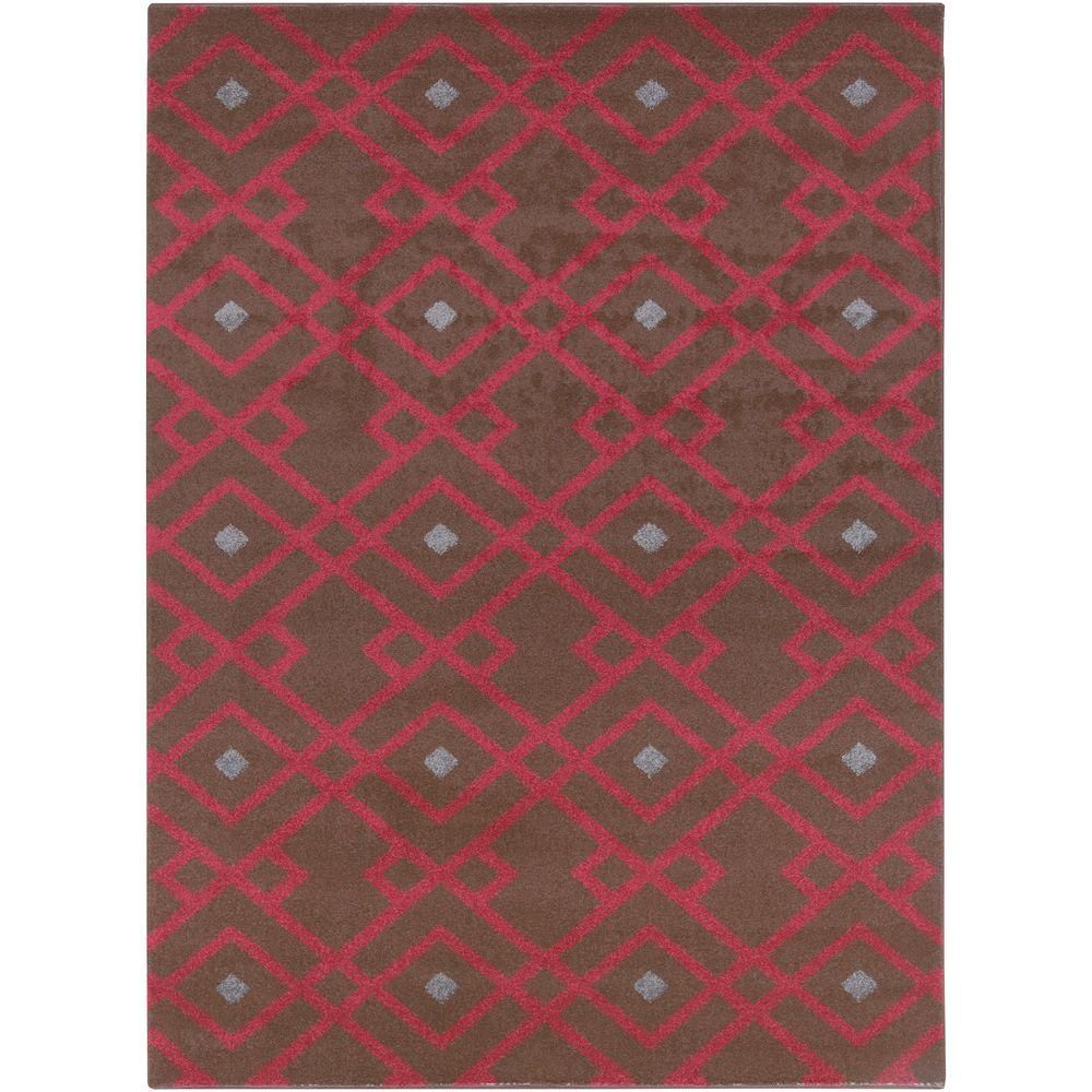 Lille Cherry (Red) 9 ft. 3 in. x 12 ft. 6 in. Indoor Area Rug
