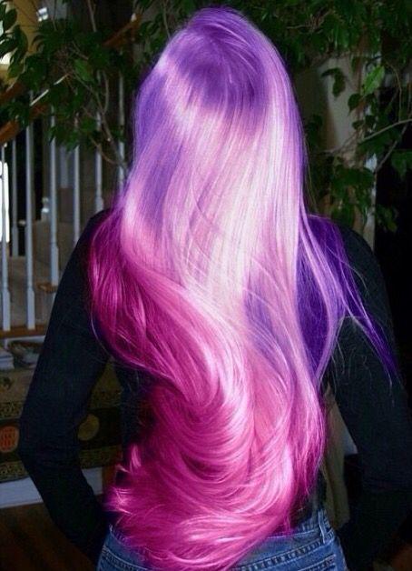 Morado Y Rosa Hair Styles Long Hair Styles Cool Hairstyles