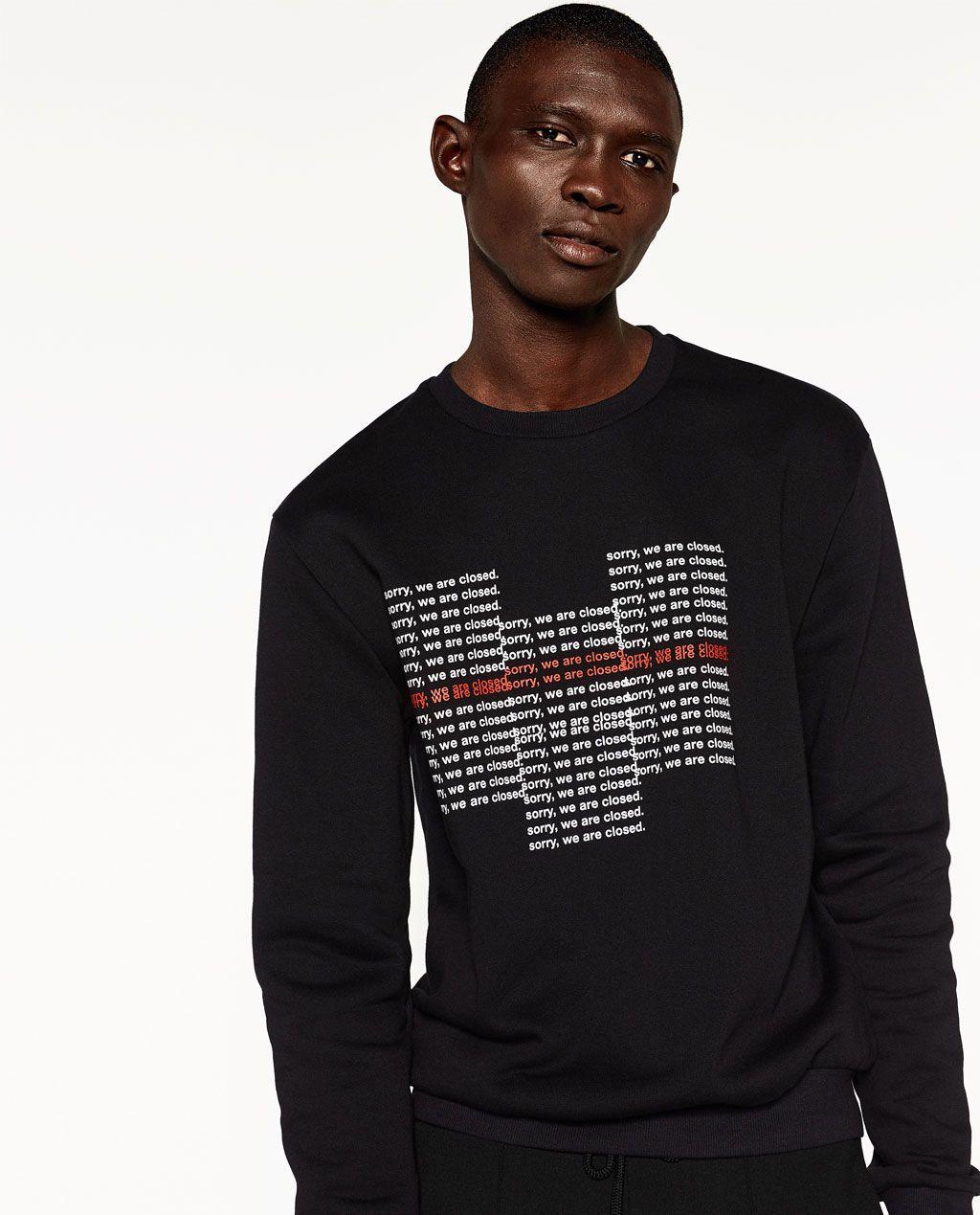 Sweatshirts Men | New Collection | ZARA United States