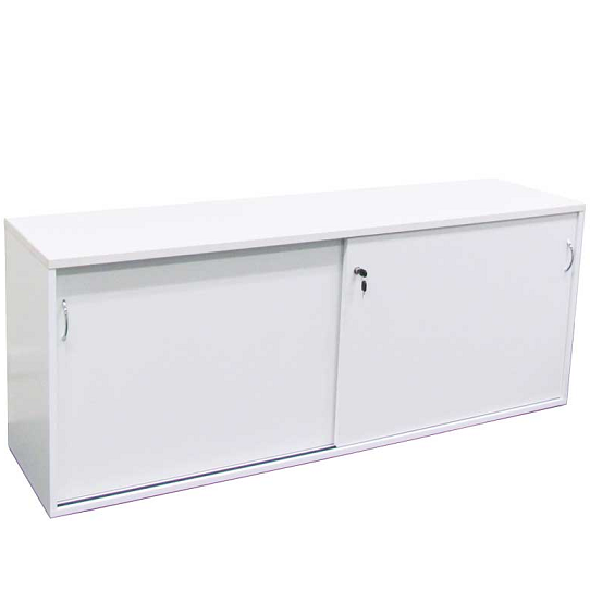 Express Credenza Buffet Storage With Sliding Doors 727mmH