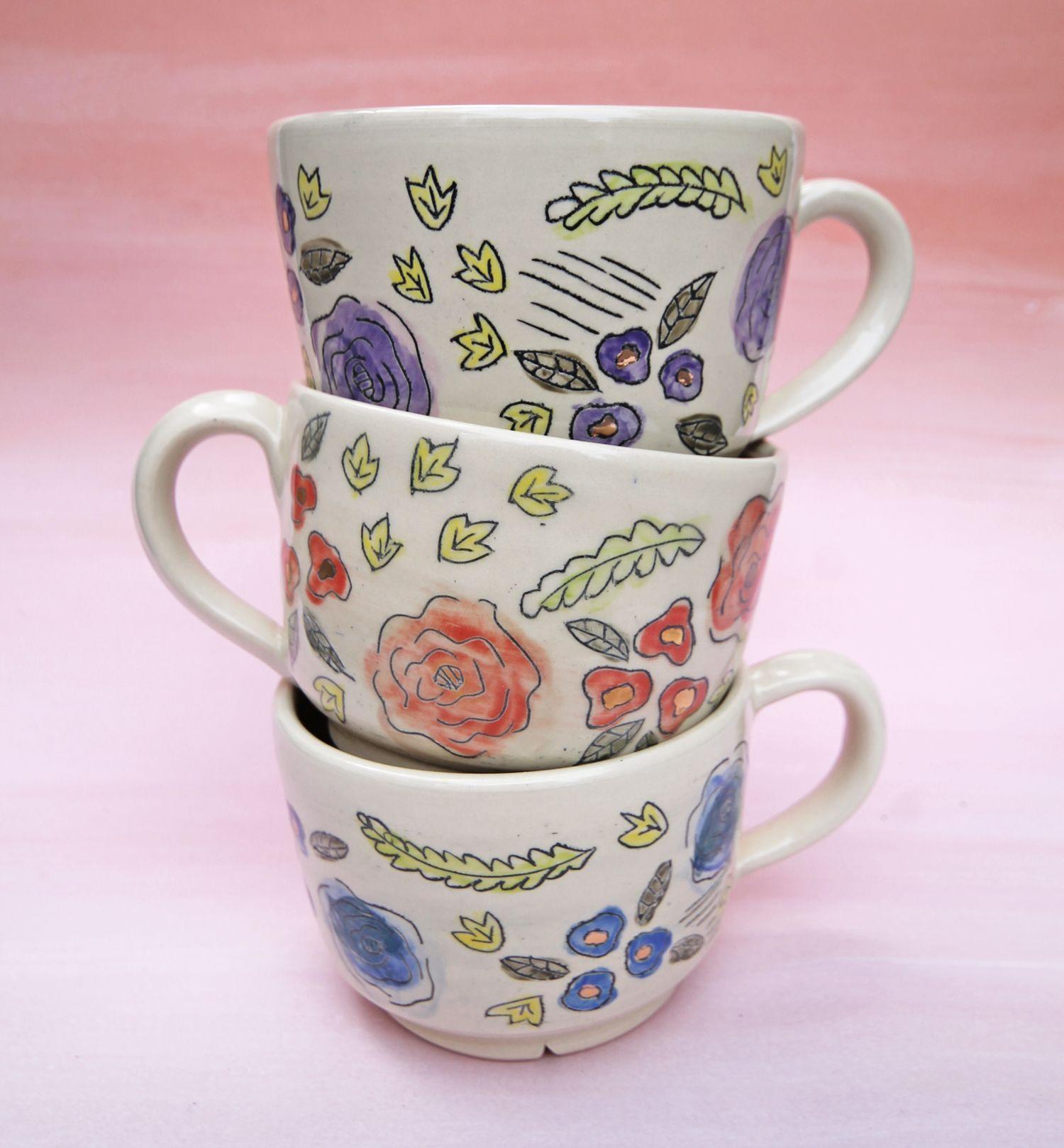 Mugs, Latte Mugs, Latte
