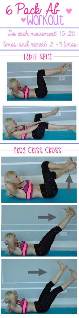 6 Pack Ab Workout:: Pilates Inspired Open post for the rest of this workout! #workout #exercise #weightloss http://bit.ly/abworkoutforwomen