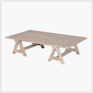 table basse tréteaux | idées pour la maison | pinterest | table