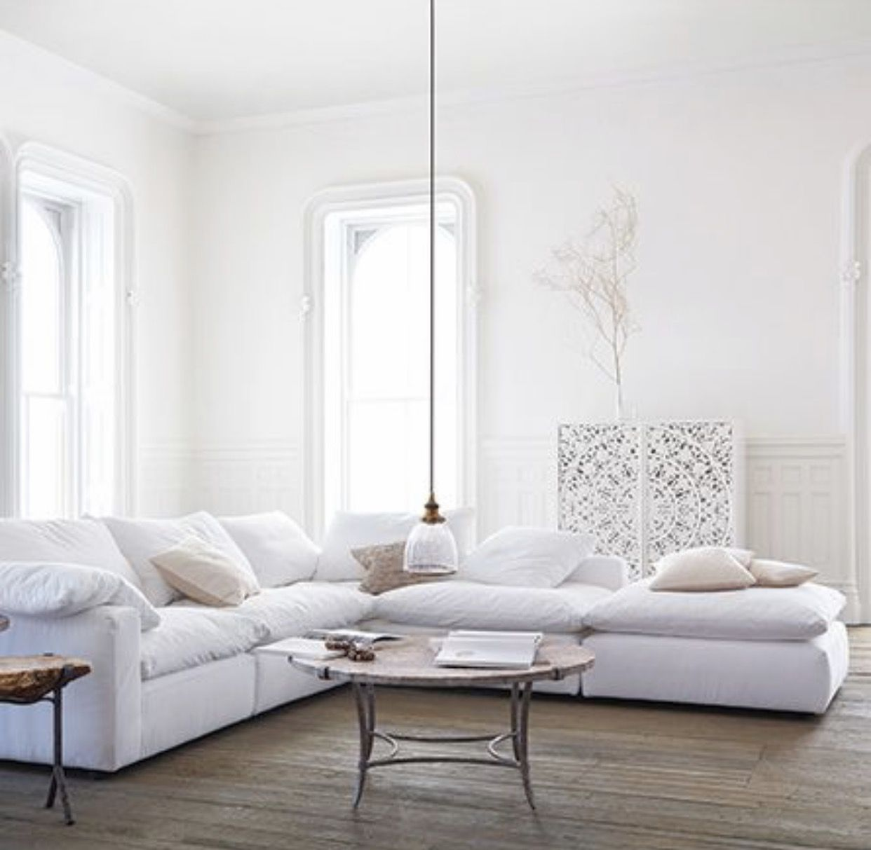 Arhaus Tahoe Sectional has to go with arhaus version of the cloud ...