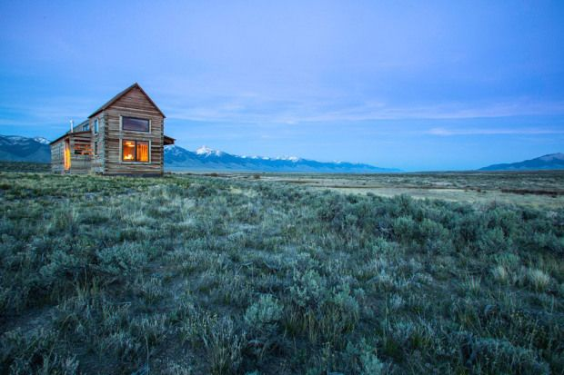 Little Lost Valley Cabin in Summit Springs Ranch, Idaho