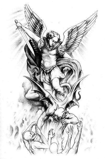 Image result for st. michael tattoo designs | Tattoo ideas ...
