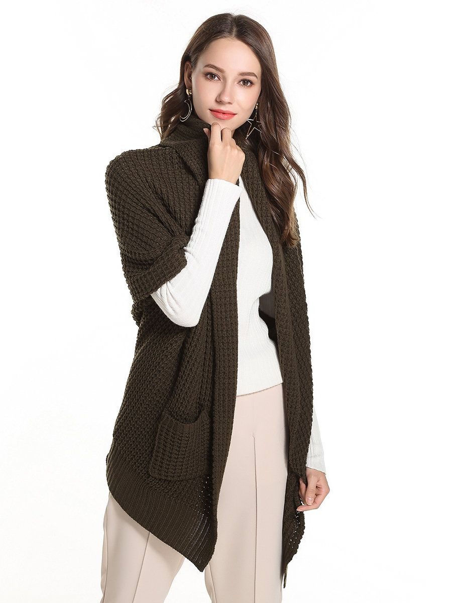 NEW DOLORES' Elegant Textured Cardigan Sweater with Short