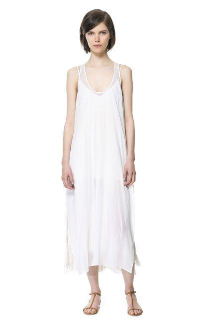Vestido novia zara