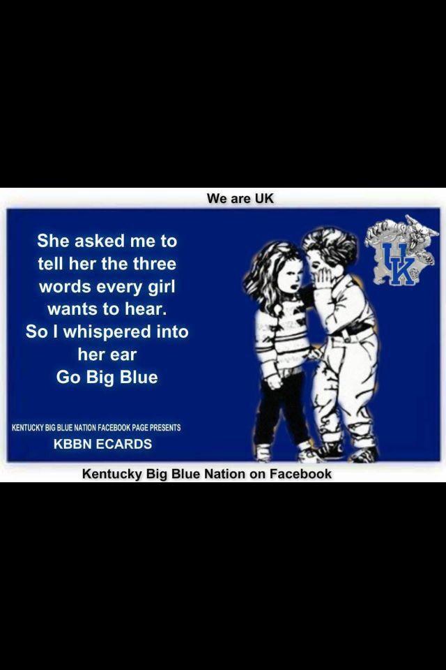 Go Big Blue   Kentucky wildcats, Kentucky basketball ...