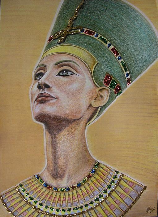 Nefertiti by Victoriya Kot   Tattoos   Pinterest ...