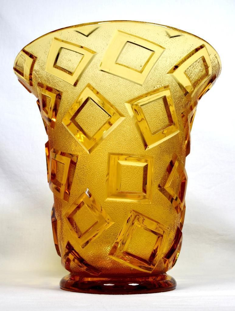 Art deco czech glass vase 1930s libochovice rare design czech art deco czech glass vase 1930s libochovice rare design reviewsmspy