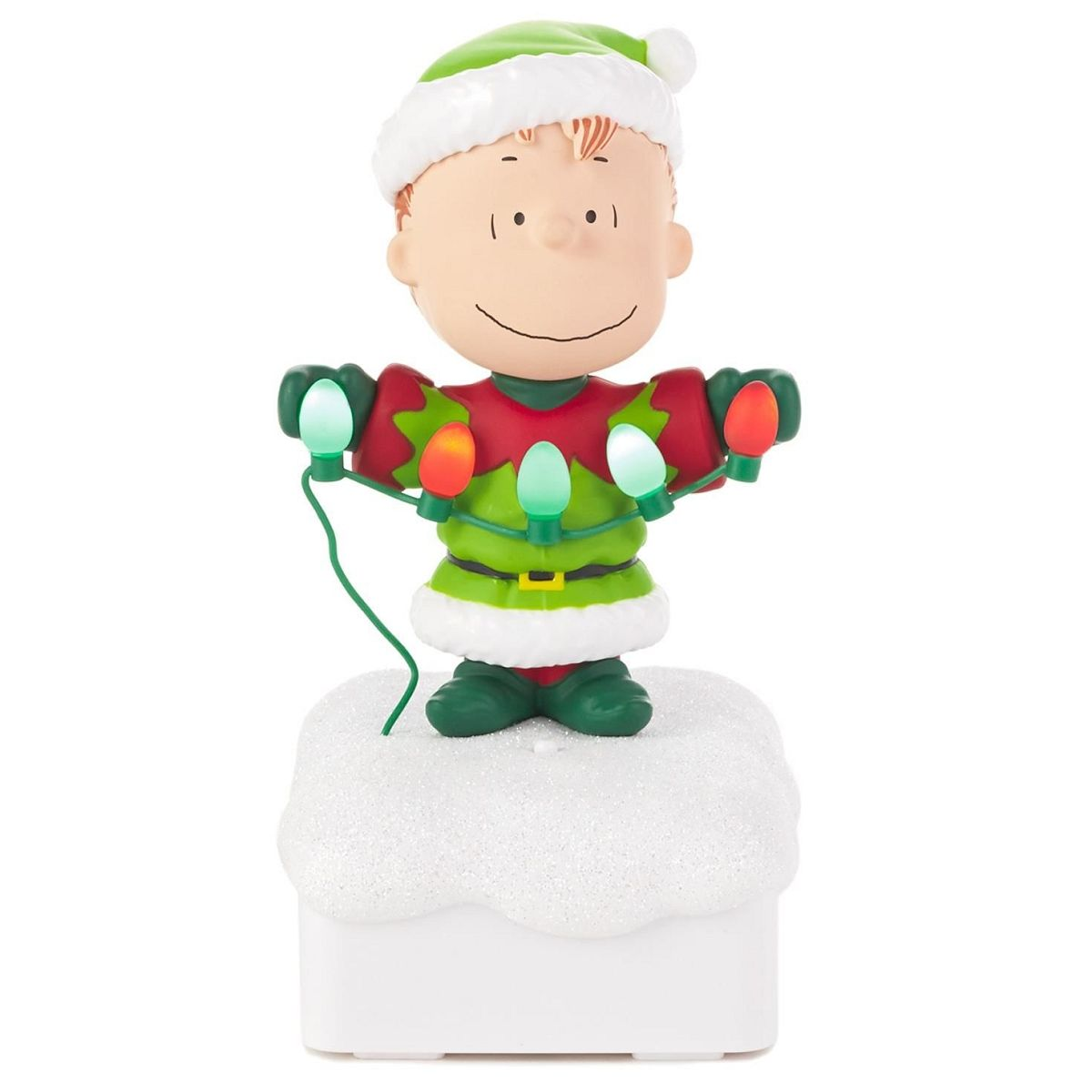 2015 Peanuts Gang Christmas Light Show - Linus | Peanuts gang ...