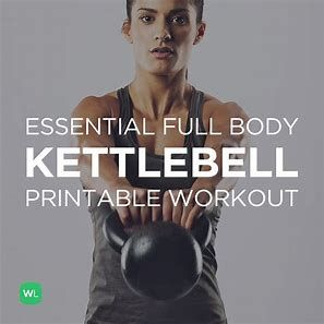 Image Result For Printable Kettlebell Workouts Women