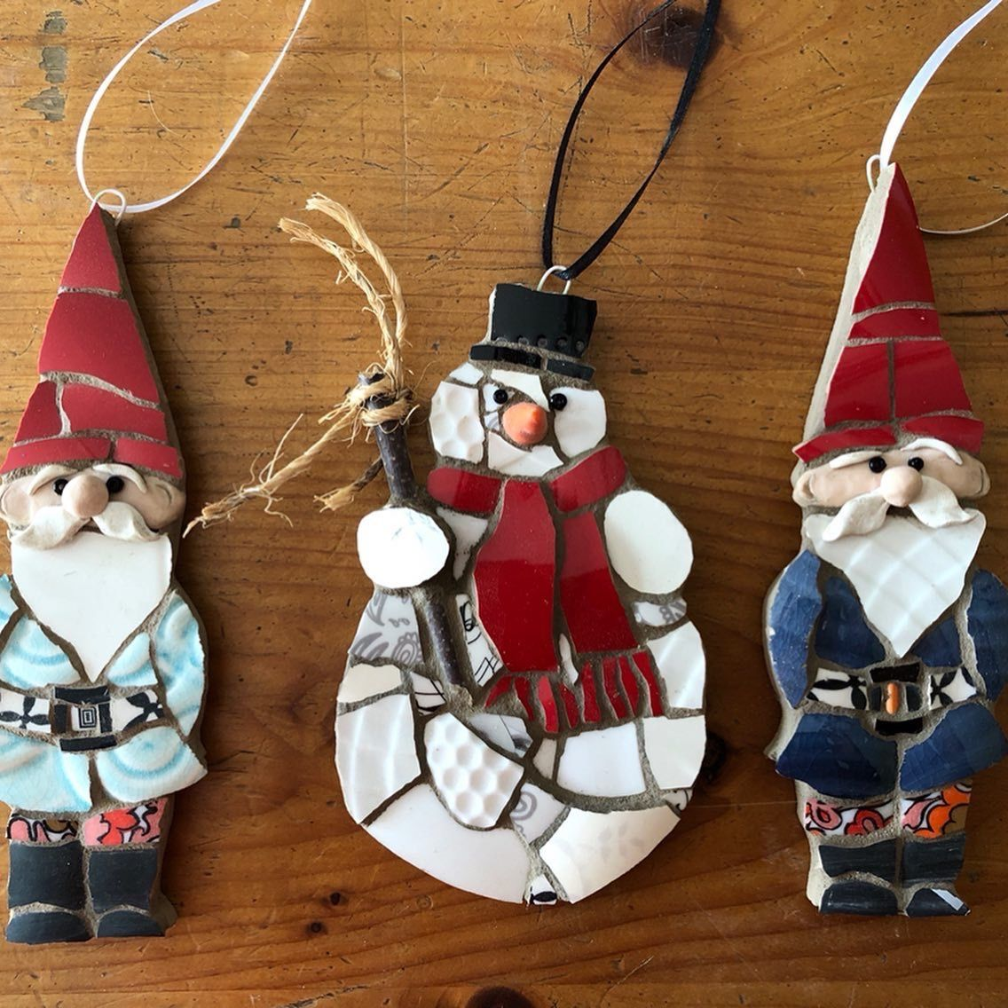 Lovable Holiday 3D Ornament Collection Paint Your Own Ceramic Keepsake Set of 4
