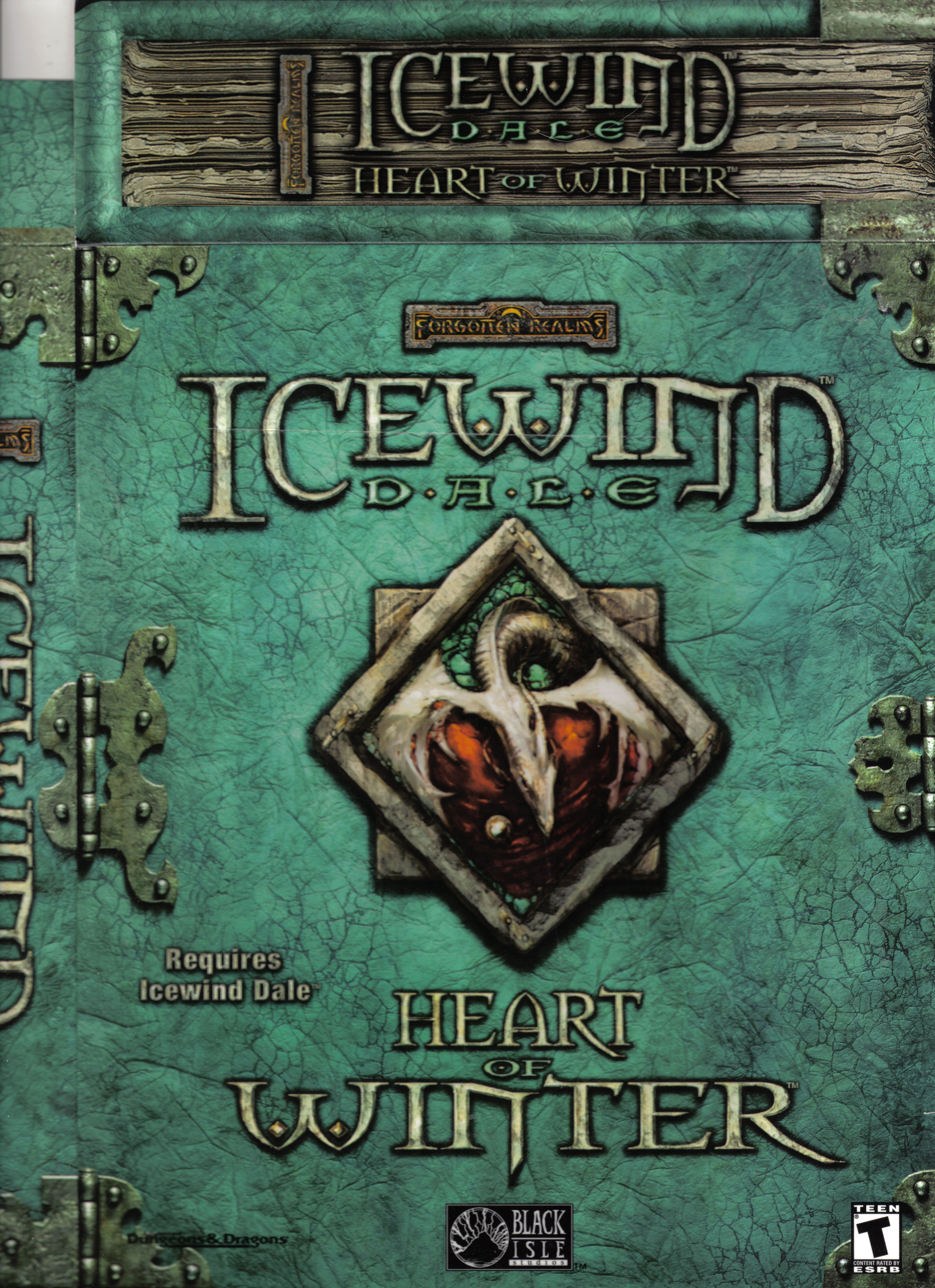 Icewind Dale-Heart of Winter front | PC Games - Box Art