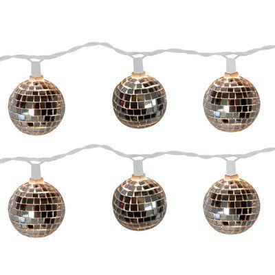 Brite Star Disco Ball 10 Light Globe String Light Products