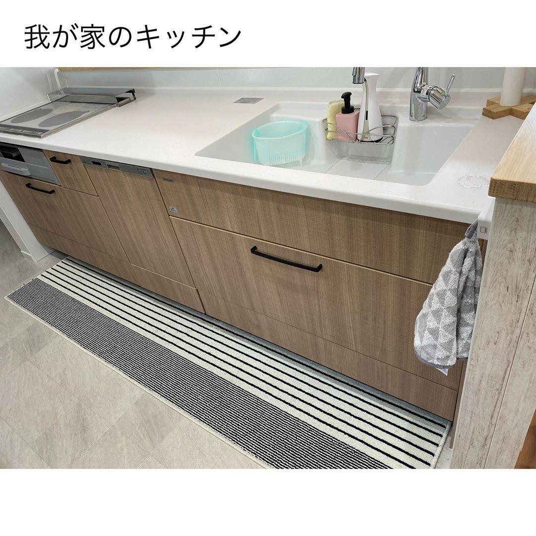 𝙷𝚘𝚜𝚑𝚒 𓂃 On Instagram 我が家のキッチン紹介 ʾʾ 我が家のキッチンはタカラのオフェリア Hmの標準仕様が Toto トクラス タカラで 3つの中で1番タカラが 文句なしの標準仕様 何 Bathroom Vanity Home Kitchens Vanity