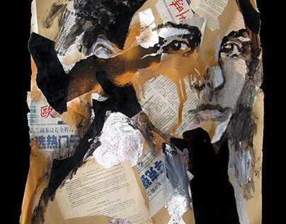 """Check out new work on my @Behance portfolio: """"Portrait : """"Les lendemains..."""""""" http://be.net/gallery/47905411/Portrait-Les-lendemains"""