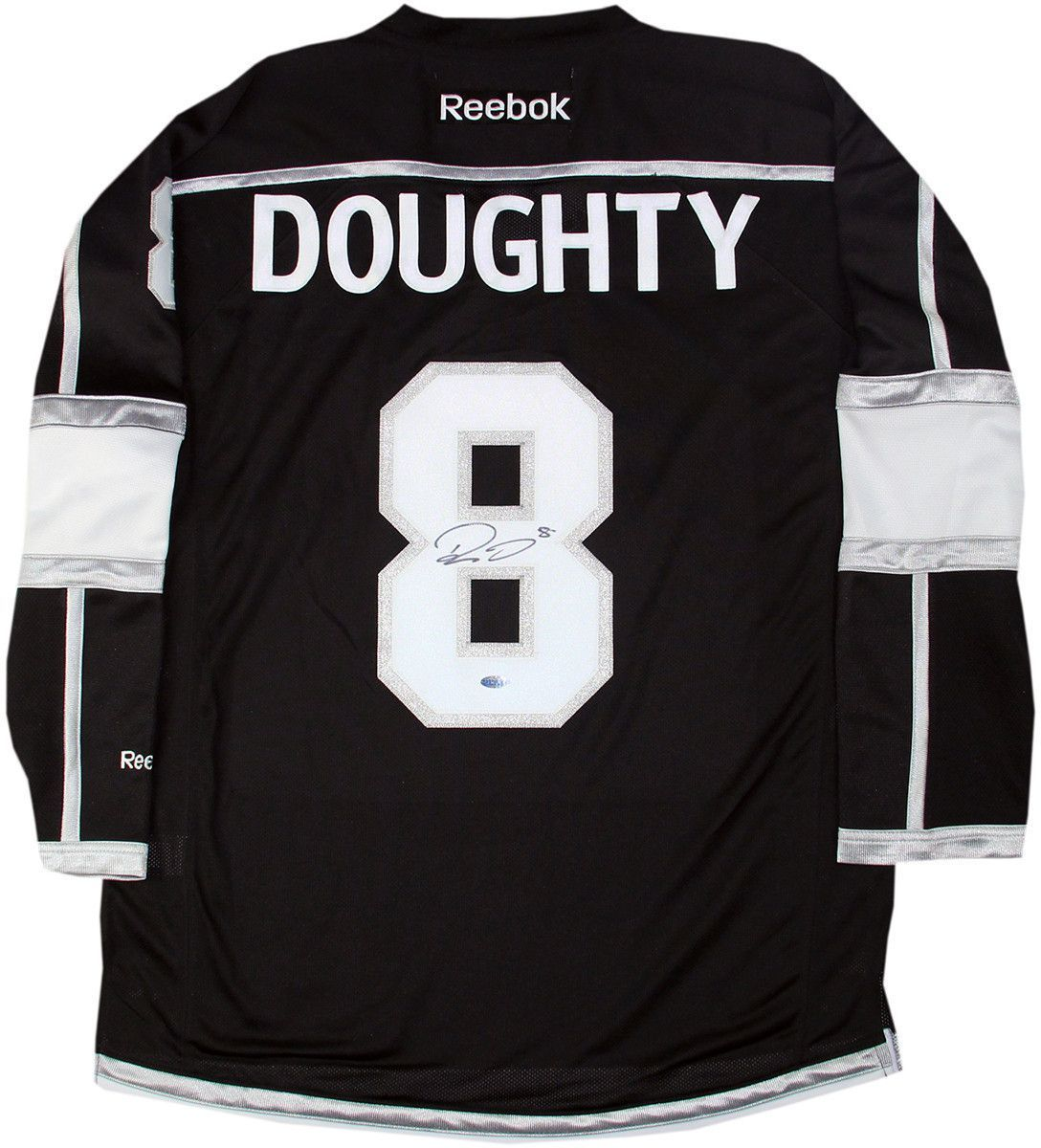 Drew Doughty Signed Los Angeles Kings Black Premier Jersey