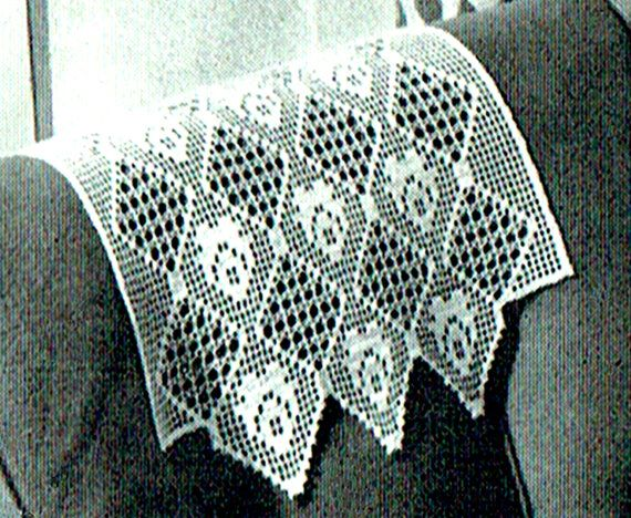Pdf 1950s coats chair back filet crochet pattern home decor elegant pdf 1950s coats elegant lace floral chair back filet crochet pattern home dt1010fo