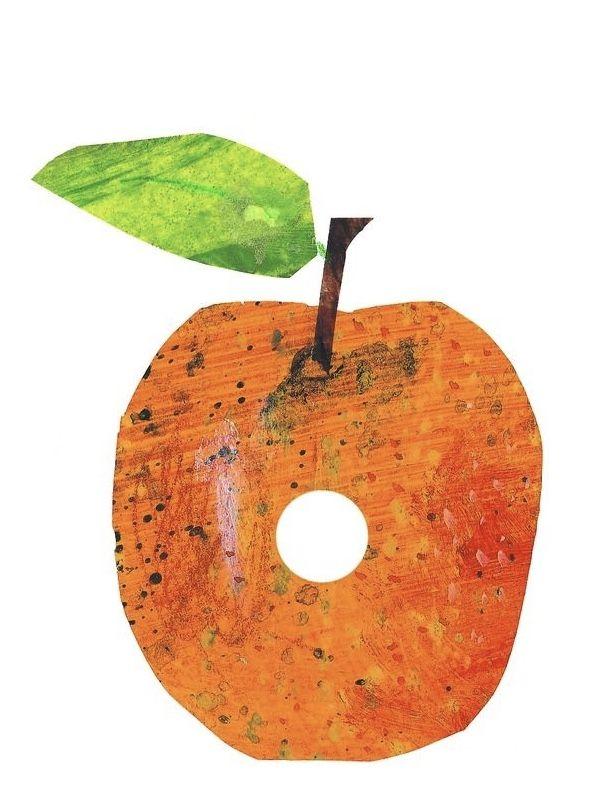 Very Hungry Caterpillar Orange   Rupsje nooitgenoeg, Kinderboeken, Thema