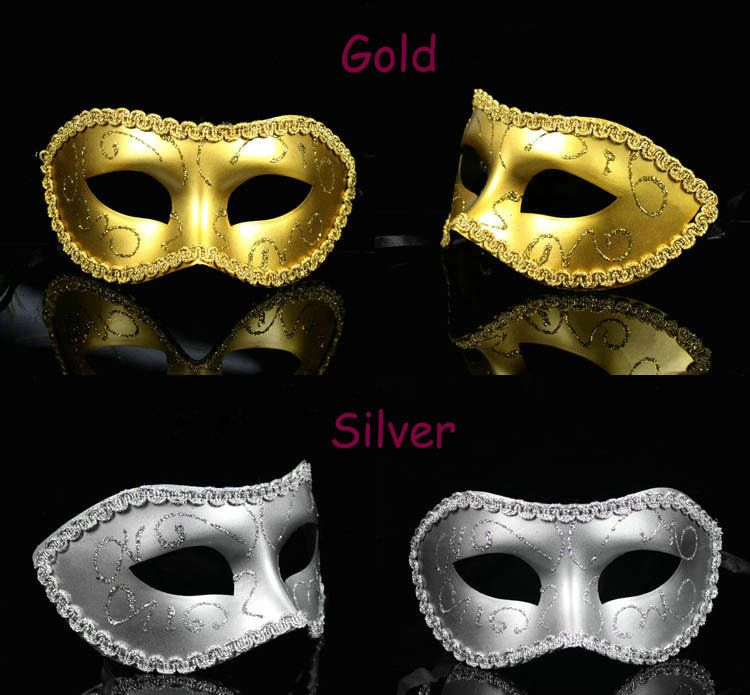 How To Decorate A Mask For A Masquerade Ball Free Shipping 17Colours Eye Mask Fancy Party Mask Masquerade Mask