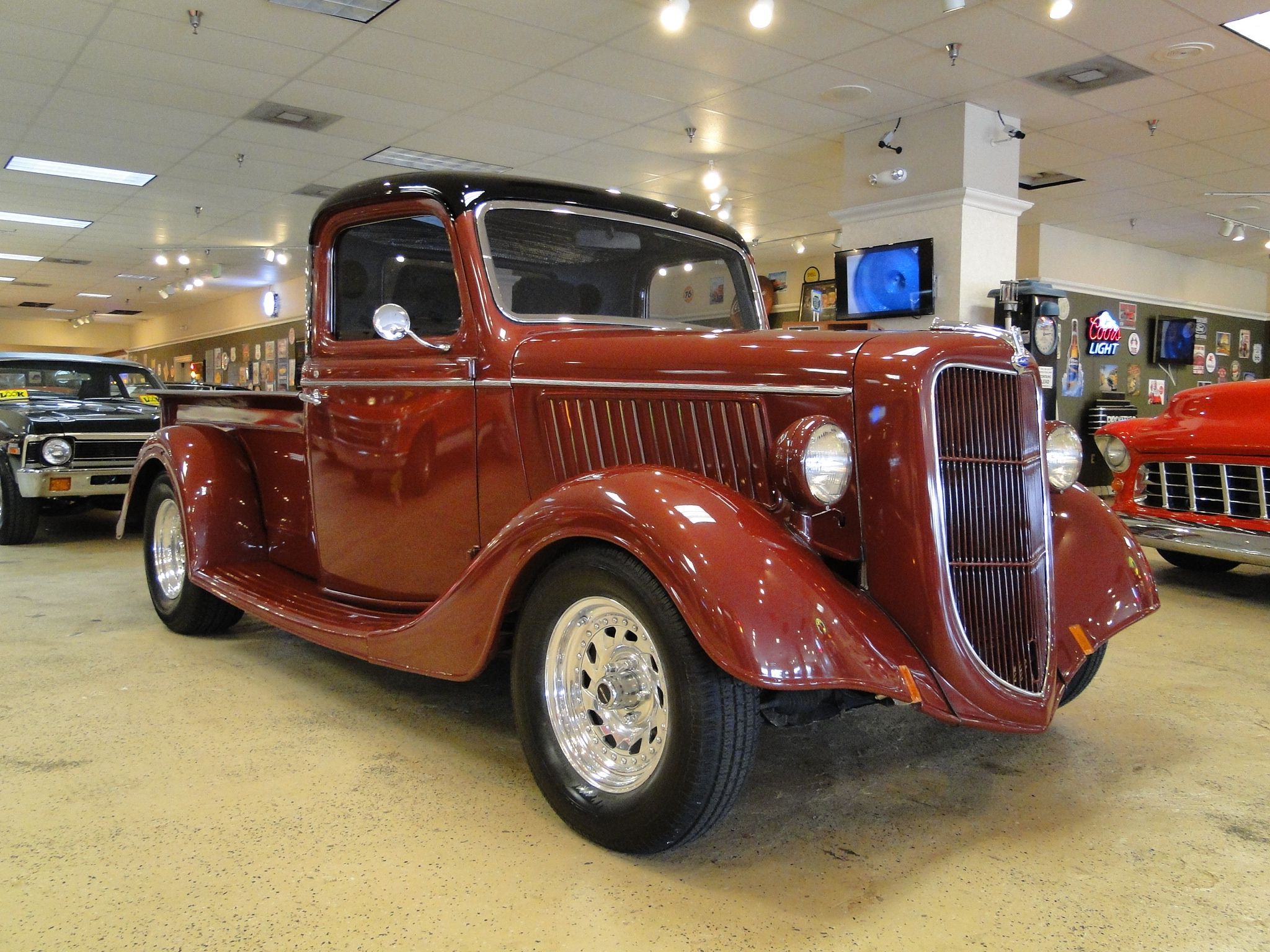 1936 Ford Pick-up Truck   Old Ford Trucks   Pinterest   Ford, Ford ...