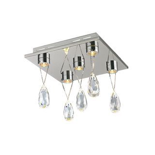 Check out the Trans Globe Lighting MDN-1176 Bejeweled 5 Light LED Crystal Flushmount in  sc 1 st  Pinterest & Trans Globe Lighting MDN-1176 Bejeweled 5 Light LED Crystal ... azcodes.com