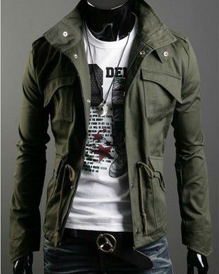 Military Style Winter Jackets | Military jacket, Woman style and ...