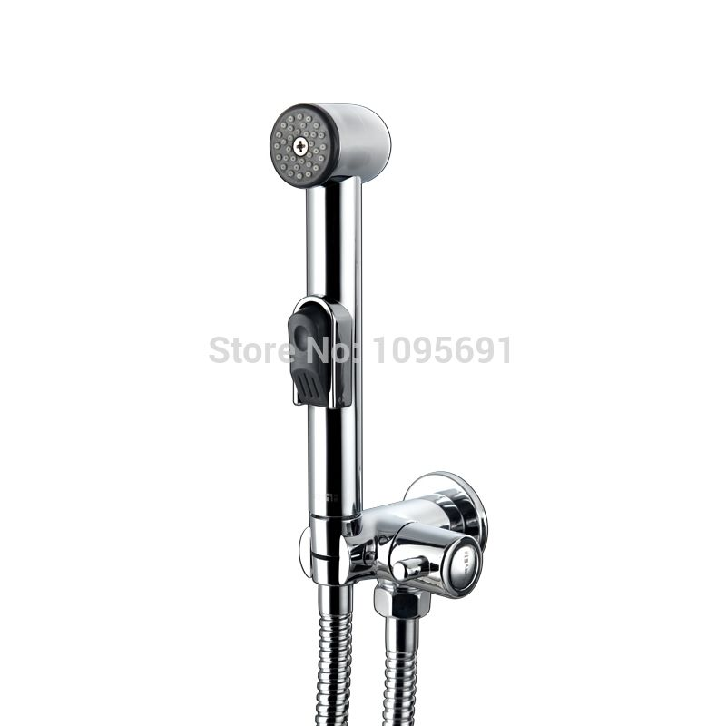 MAIDEER ABS chrome Women Handheld Bidet Shower set /Portable bidet ...