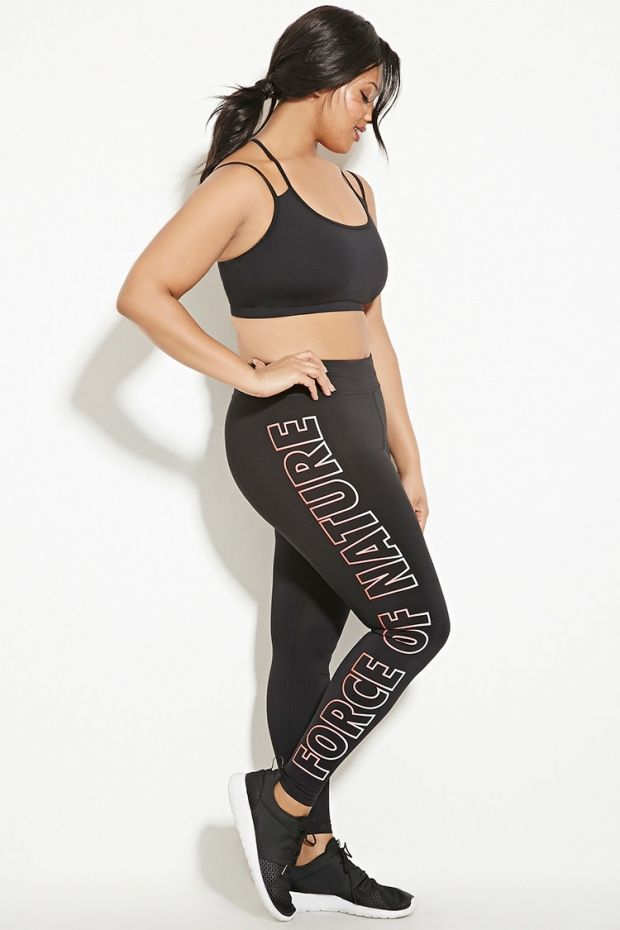 0d5f4bdb8e Forever 21 Debuts a New Line of Activewear Headlining Ashley Graham ...