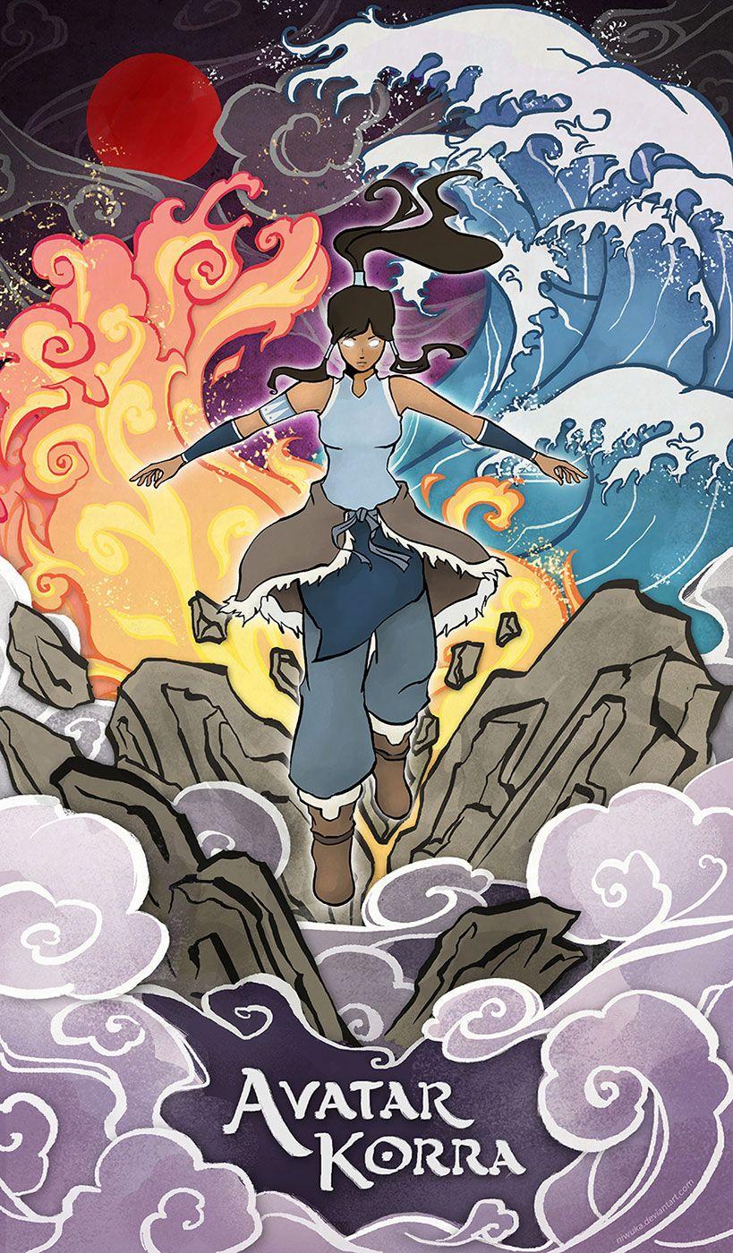 Avatar Korra By Niwuka Legend Of Korra Avatar Airbender