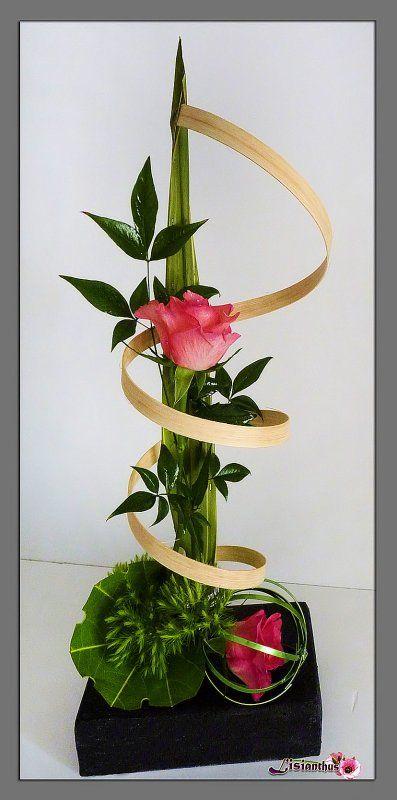 art floral bouquet cr ations florales de lisianthus f te des mamans les mamans et maman. Black Bedroom Furniture Sets. Home Design Ideas