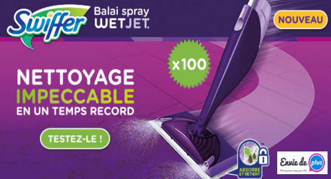 100 Balais Swiffer Wetjet Gratuits Bali Produit Ménager