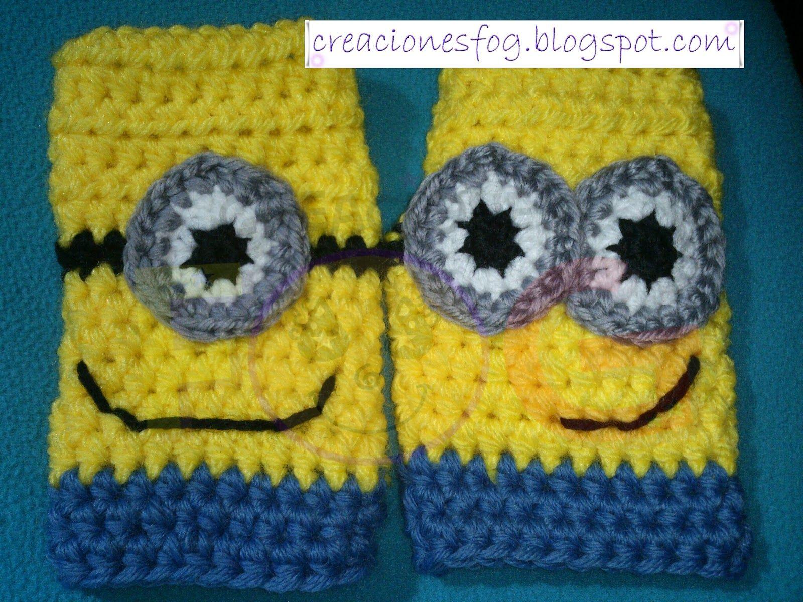 Creaciones fog guantes sin dedo minion mis trabajos a crochet creaciones fog guantes sin dedo minion bankloansurffo Choice Image
