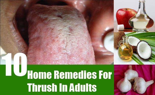Thrush home remedies