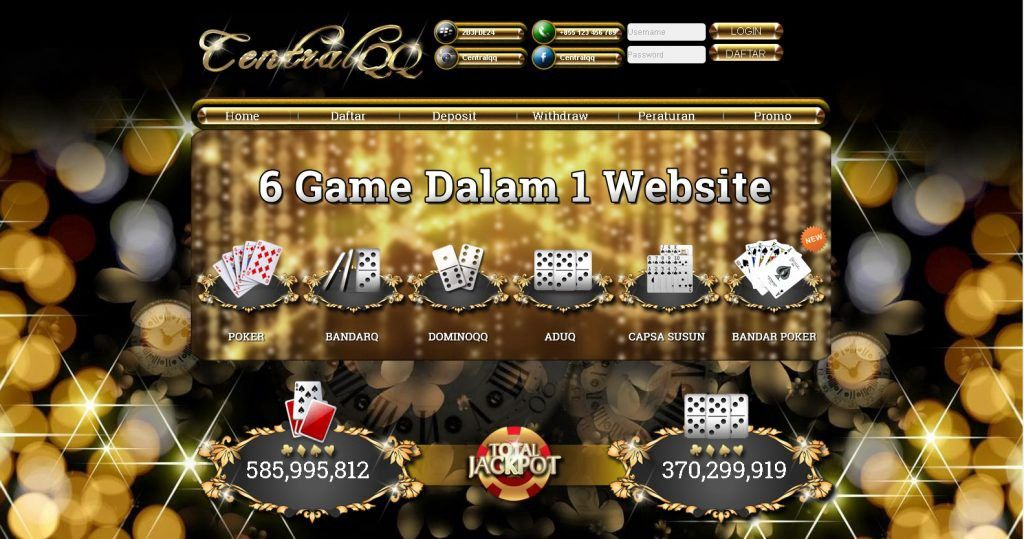 Centralqq Is One Of Many Major On The Web Poker And Dominoqq Gambling Web Sites Functioning Out Of Indonesia Members Can Enjoy Up To Poker Gambling Enjoyment