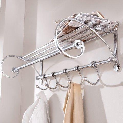 garderobe metall wandgarderobe garderoben metall. Black Bedroom Furniture Sets. Home Design Ideas